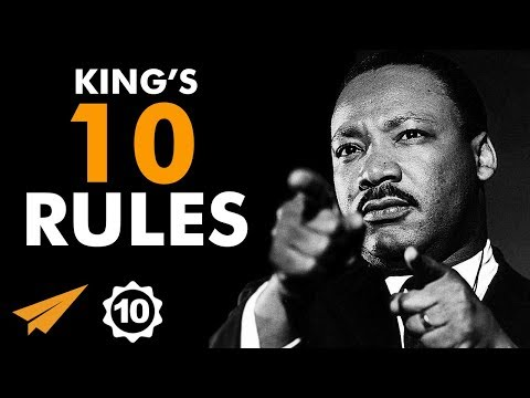 """#BELIEVE In Your WORTHINESS!"" - Martin Luther King Jr. - Top 10 Rules"