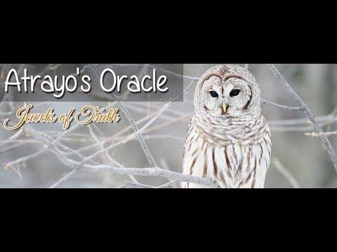 Atrayo's Oracle Vlog as Spiritual Wisdom on Freedom, Dreamers, Worship, Etc...