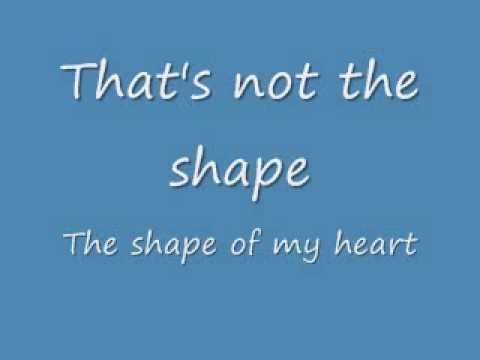 Sting-Shape of my Heart (Lyrics) [Sting]
