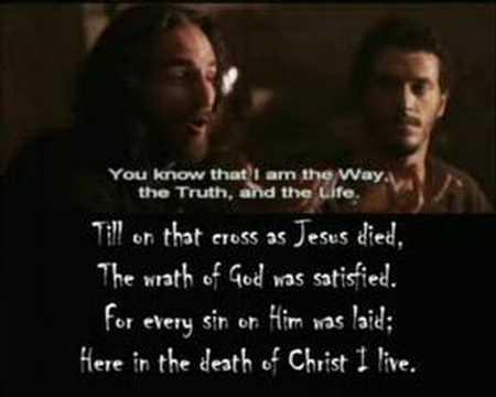 In Christ Alone Worship Video with Lyrics