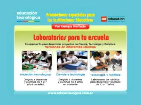 Laboratorios LEGO para las escuelas