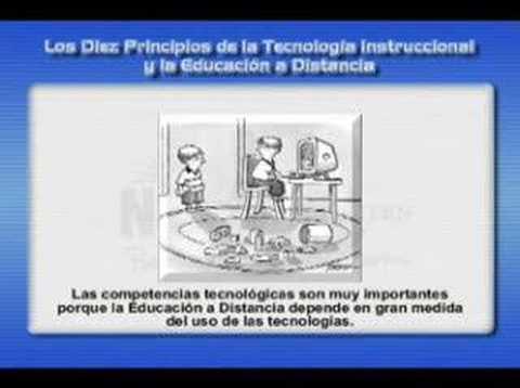 Los Diez Principios de la Educación a Distancia