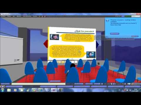 """Ponencia de Mario Castellano. El uso de metaversos en educación. """"Las escuelas virtuales"""""""