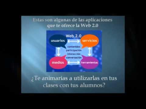 WEB 2.0 y Educación. María Zavalía