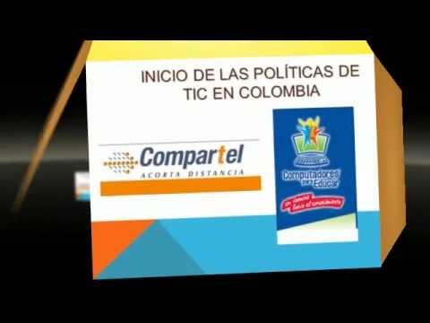 LAS TIC EN COLOMBIA  LUz Elena Arias