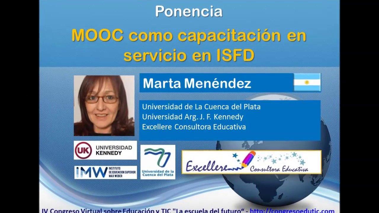 Ponencia de Marta Menéndez