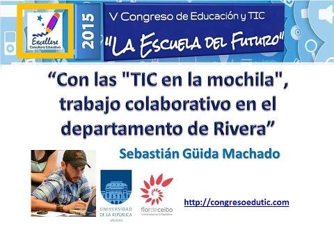 """Ponencia V Congreso TIC Guida Machado """"Con las TIC en la mochila"""""""