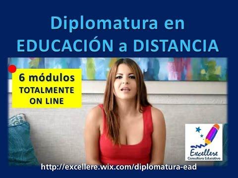 Diplomatura Educación a Distancia