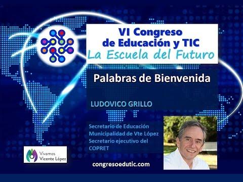 VI Congreso TIC Presentación de Ludovico Grillo