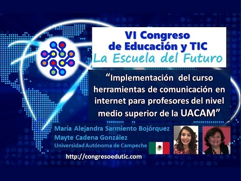 Ponencia: HERRAMIENTAS DE COMUNICACIÓN EN INTERNET PARA PROFESORES