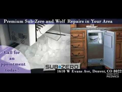 Sub-zero and Wolf Repair Denver