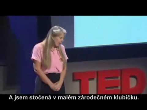 Neuroložka Dr. Jill BolteTaylor - fascinující přednáška o mozkové mrtvici