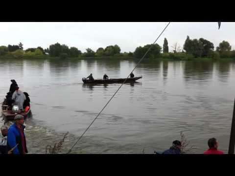 Gabards sur la Loire. Punts on the Loire