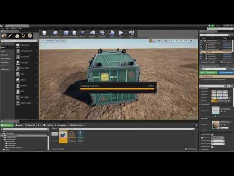 Unreal Engine 4 - model rig