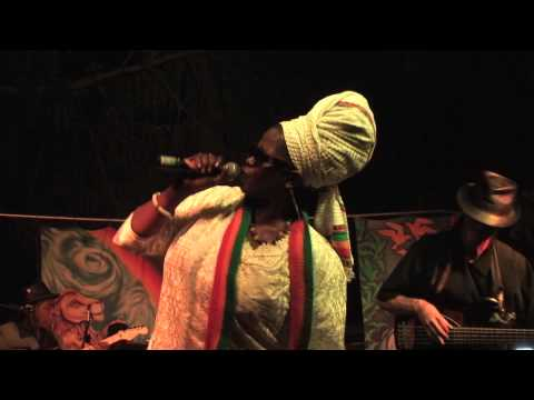 Sister Carol Sierra Nevada World Music Festival June 21, 2013 whole show Boonville California