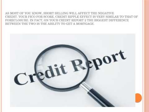 Credit report spending intended
