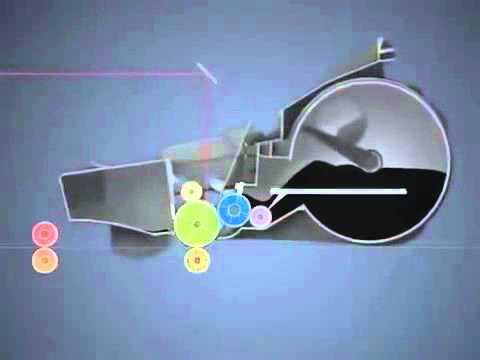 Nguyên lý hoạt động của máy in laser