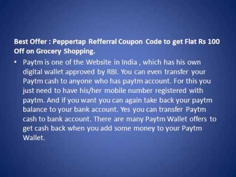 Paytm Coupons for Mobile Recharge and Cash Back Offers December 2016
