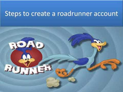 How to create a roadrunner account ?