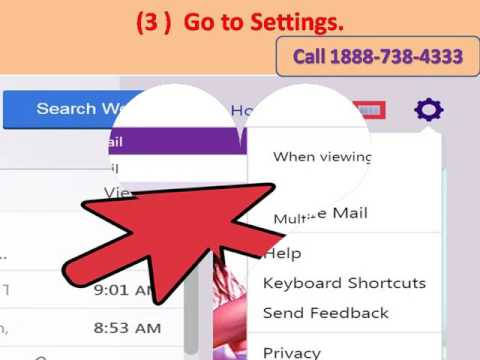 How to Manage Your Account Settings on Yahoo call - 1888-738-4333