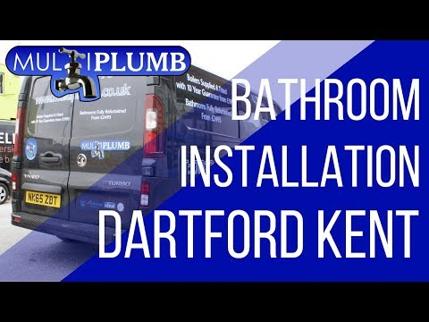Bathroom Installation in Dartford Kent | MultiPlumb Bathrooms, Plumbing & Heating Installation