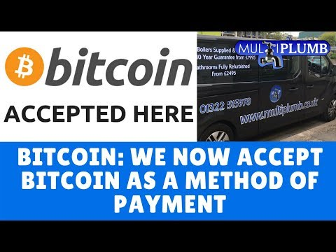 Bitcoin: We Now Accept Bitcoin As A Method Of Payment | MultiPlumb Bathrooms, Plumbing & Heating