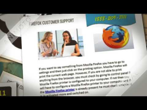 Mozilla Firefox Technical Support Number 1888 209 7111