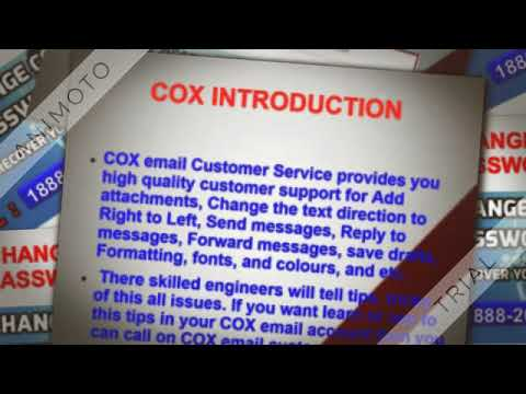 How To Change COX Password 1888 209 7111