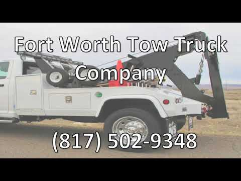 24 Hour Towing Service Fort Worth TX