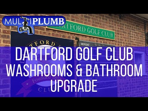 Dartford Golf Club Washrooms & Bathroom Upgrade | Commercial Washrooms & Bathroom Installation