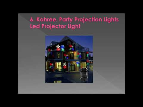 Top 10 Best Christmas Laser Lights