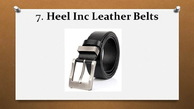 Top 10 Best Leather Belts