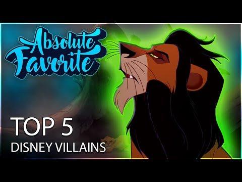 Best Animated Disney Villains