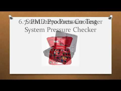 Top 12 Best Cooling System Pressure Tester