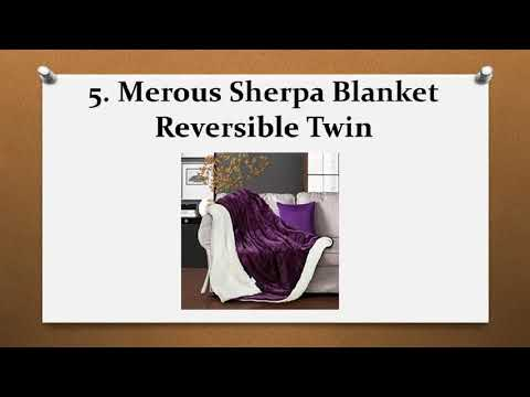 Top 10 Best Sherpa Throw Blankets