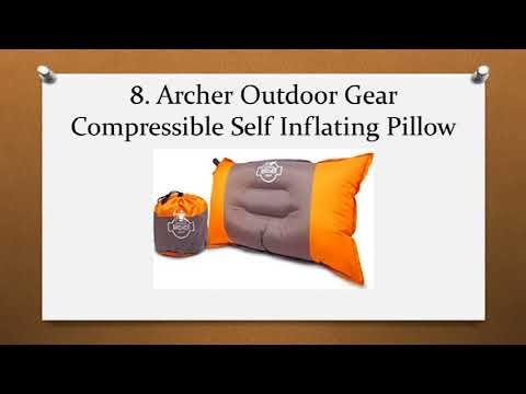 Top 10 Best Camping Pillows