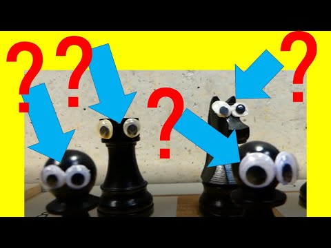 """STOPMOTION CHESS & ASMR (part3) [THE FAMOUS """"OPERA'S GAME""""]"""