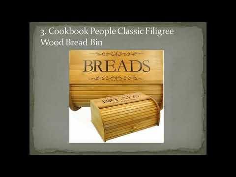 Top 7 Best Wooden Bread Boxe