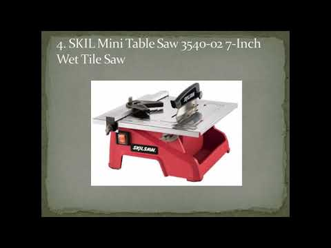 Top 8 Best Mini Tables Saw