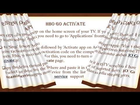 HBO GO Activate Toll Free 800 414 2180