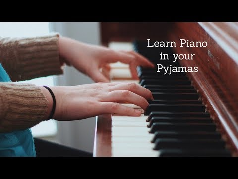 Piano Lessons in your Pyjamas