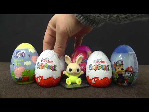 Kinder Surprise Eggs Big with Bing CBeebies!