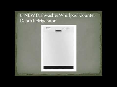 Top 9 Best Whirlpool Counter Depth Refrigerators