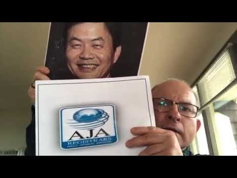 Anglo Japanese American (AJA) Registrar - Unofficial Accreditation and Overseen By China-Led IAF