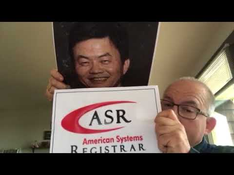 American Systems Registrar (ASR)- Unofficial Accreditation and Overseen By China-Led IAF
