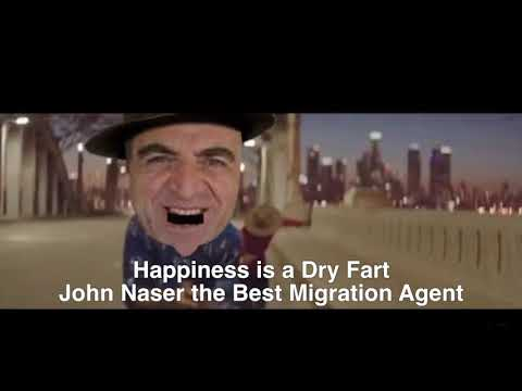 John Naser happy dance