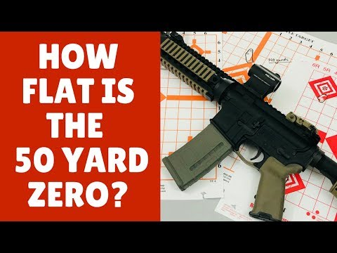 The 50 Yard Zero (The Best Distance To Zero An AR 15)