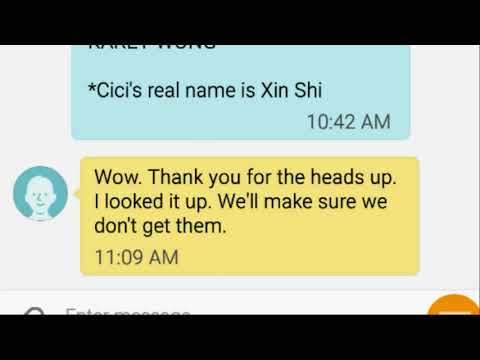 "Vancouver people comment on Xin Shi aka ""Cici Shi"" warning"