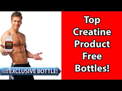 Creatine: FREE BOTTLE OFFER!!!  Improve Muscular Performance & Power - Build Muscle Mass