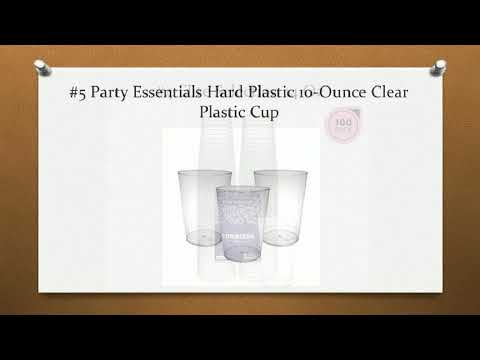 Top 10 Best Clear Plastic Cups